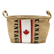 ジュート バスケット Canada