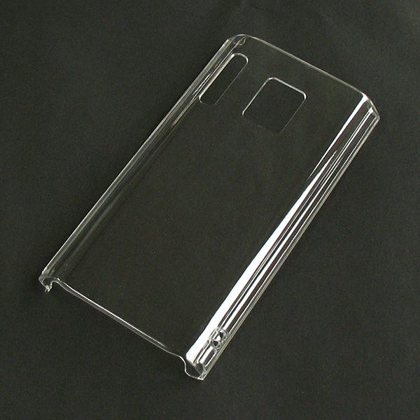 【P-07D/PC】ドコモ ELUGA power (エルーガパワー) クリア(透明色)ハードタイプPC素材