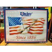 アメリカンブリキ看板 Daisy/デイジー 最初の空気銃