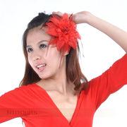 激安☆ベリーダンス◆アクセサリー◆髪飾り◆ヘアゴム◆フラワー◆花◆キラキラ◆羽◆多色