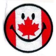 輸入ワッペン にこちゃん カナダ