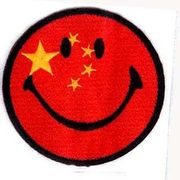 輸入ワッペン にこちゃん 中国