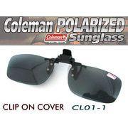 Coleman コールマン UVカット クリップ式偏光 クリップサングラス  CL01-1