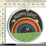 輸入ワッペン HAPPY DAYS