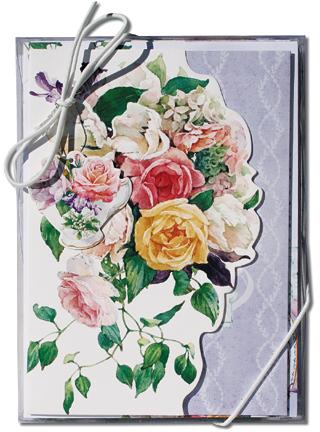 リゾムデザイン グリーティングカード 10枚セット【ティーローズコテージ】
