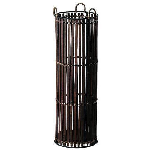 【値下げ】UmbrellaStand ワイヤー&バンブー傘立て 54-41BR ブラウン