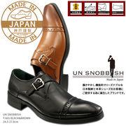 UN SNOBBISH 【MadeInJapan】本革紳士ビジネスシューズ T-601