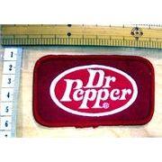 輸入ワッペン Dr Pepper ドクターペッパー 赤