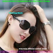 大人気モデル☆大きなフレームのニューデザインレデイースファッションサングラス