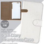 iPhone6 TGオリジナル高品質印刷用手帳カバー 表面白色 PCケースセット35