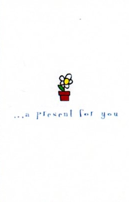 LEGAMi イタリア レガミ style line&flowers line グリーティングカード