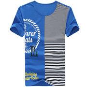 半袖ボーダーTシャツ メンズ 3色 100742