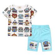 格安!!NEW★子供★幼児★ロボット★ショートパンツ★Tシャツ+半ズボン