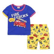 格安!!NEW★子供★幼児★車★消防車★ショートパンツ★Tシャツ+半ズボン