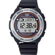 【CITIZEN】シチズン Q&Q ソーラー電源デジタル電波 メンズ腕時計MHS7-300