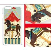 DFD iphone6ケース メリーゴーランド 4柄【サーカス・ゴージャス・ペガサス・パステル】