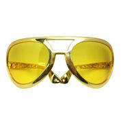 ファニーグラス ビッグ ゴールデングラス 【 仮装 コスプレ サングラス 面白サングラス 】
