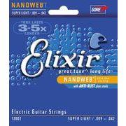 Elixir ギター弦 SUPER LIGET/12002