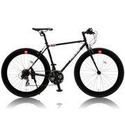 (価格変更)CANOVER CAC-024 HEBE クロスバイク ブラック 25586【代引き不可】