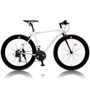 (価格変更)CANOVER CAC-024 HEBE クロスバイク ホワイト 25587【代引き不可】