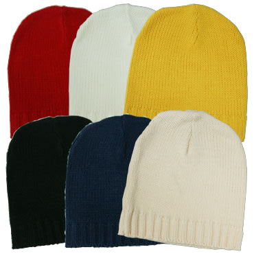 ニット帽 全6色