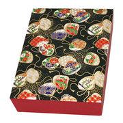 友禅紙 貼箱 はがきサイズ 4058-1