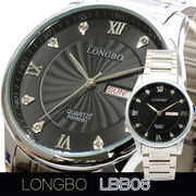 LONGBO メンズ 腕時計 LBB06