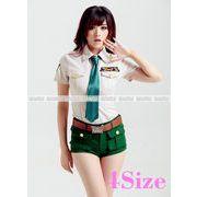 4サイズ ポリス 大きいサイズ コスプレ ポリス 制服 婦警