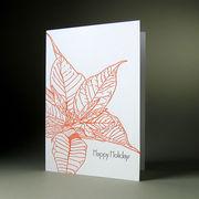 oblation papers&press 活版印刷カードbotanical notes ホリデー