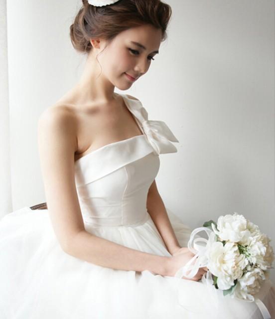 二次会 ミニ ウエディングドレス 花嫁ミニドレス カラードレスミニ ショートドレス 結婚式 披露宴