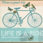 Paper+Design ペーパーナプキン 自転車 バタフライ