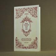 oblation papers&press 活版印刷カード english lit  valentine バレンタイン