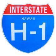 トラフィックサインボード HAWAII H-1 (S)