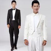 タキシード4点セット タキシードスーツ 燕尾服 結婚式 パーティ