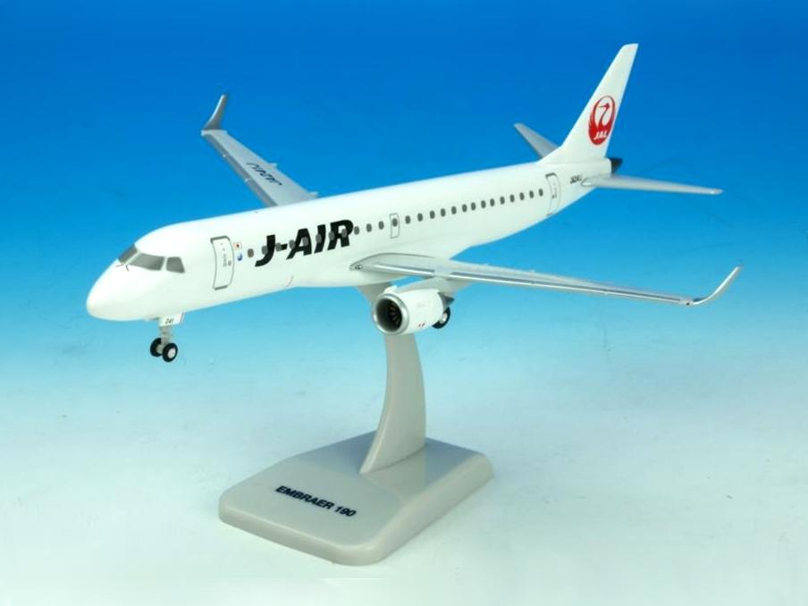 JAL/日本航空 JAL エンブラエル190 1/200  スナップインモデル