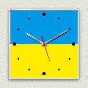 MYCLO 「世界の国旗」シリーズ時計 09 ウクライナ