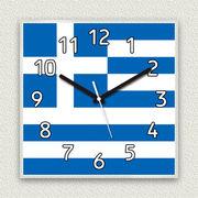 MYCLO 「世界の国旗」シリーズ時計 10 ギリシャ