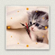MYCLO 「写真」シリーズ時計 01 子猫