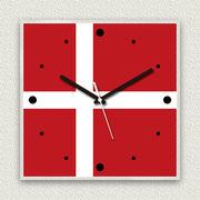 MYCLO 「世界の国旗」シリーズ時計 11 デンマーク