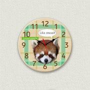 MYCLO 「アニマル」シリーズ時計 12 レッサーパンダ オリジナル 文字盤時計