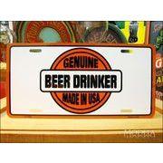 ライセンスプレート ビールを愛する者達
