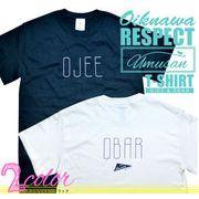 Men's OJEEおじぃ&OBARおばぁ リスペクトTシャツ(沖縄Tee)