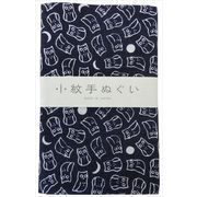 宮本 日本製 小紋手拭 ふくろう 約33×90cm