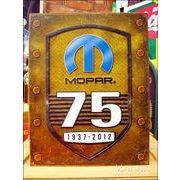 アメリカンブリキ看板 MOPAR 75周年記念