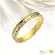 ジュレリングゴールド(Jurer/誓い)ステンレス指輪単品