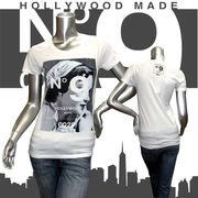 【HOLLYWOOD MADE】ハリウッドメイド★MISS MODERN GIRL TE★ロゴ★No.9★半袖Tシャツ ホワイト