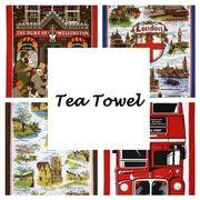 ◆英アソート対象商品◆【英国雑貨】英国デザインキッチンタオル (1)