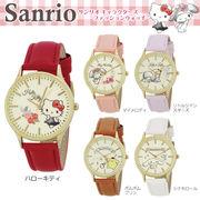 腕時計 レディース サンリオ SR-B04 2980 キティ マイメロディ キキララ ポムポムプリン シナモロール