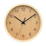 木目調壁掛け時計