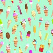 Maki  ペーパーナプキン カラフルアイスクリーム